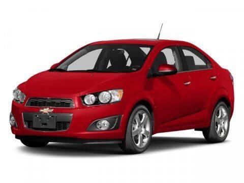 2014 Chevrolet Sonic for sale at DUNCAN SUZUKI in Pulaski VA