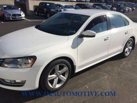 2015 Volkswagen Passat for sale at J & M Automotive in Naugatuck CT