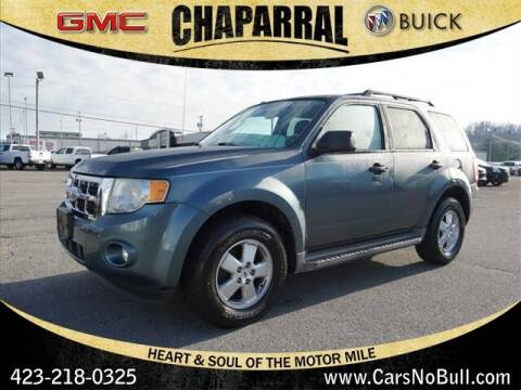2010 Ford Escape for sale at CHAPARRAL USED CARS in Piney Flats TN