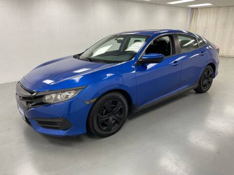 2017 Honda Civic for sale at Kerns Ford Lincoln in Celina OH