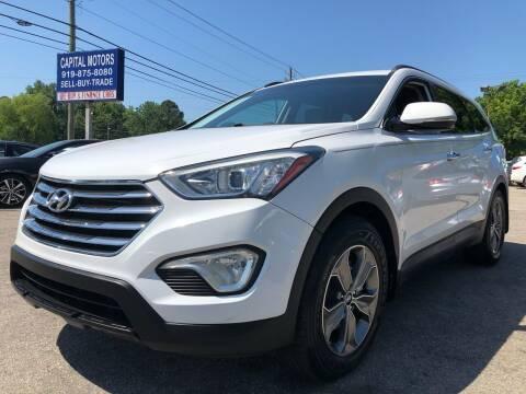 2014 Hyundai Santa Fe for sale at Capital Motors in Raleigh NC