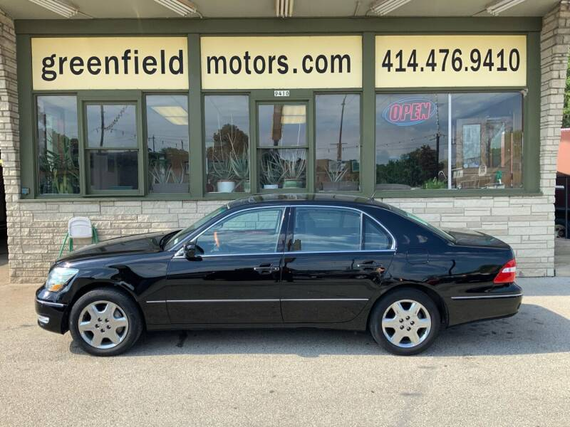 2004 Lexus LS 430 for sale at GREENFIELD MOTORS in Milwaukee WI