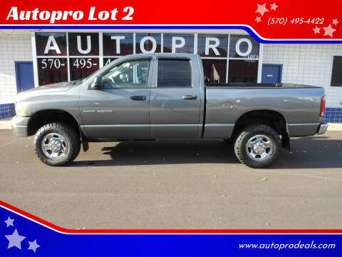 2005 Dodge Ram Pickup 2500 for sale at Autopro Lot 2 in Sunbury PA