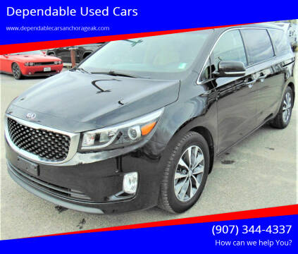 2018 Kia Sedona for sale at Dependable Used Cars in Anchorage AK