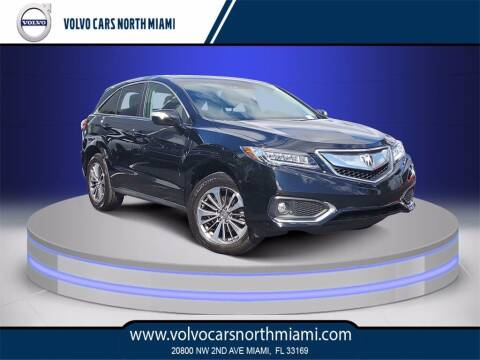 2018 Acura RDX for sale at Volvo Cars North Miami in Miami FL