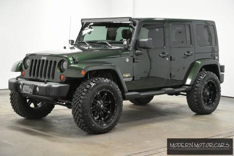 2011 Jeep Wrangler Unlimited for sale at Modern Motorcars in Nixa MO