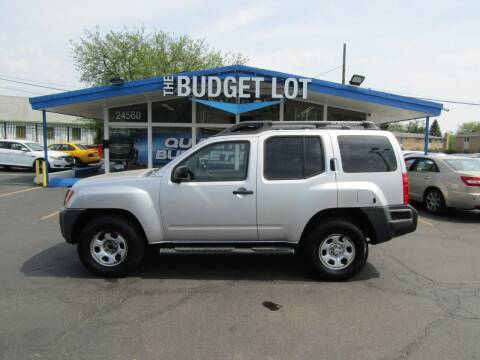 2008 Nissan Xterra for sale at THE BUDGET LOT in Detroit MI