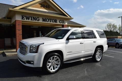 2018 GMC Yukon for sale at Ewing Motor Company in Buford GA