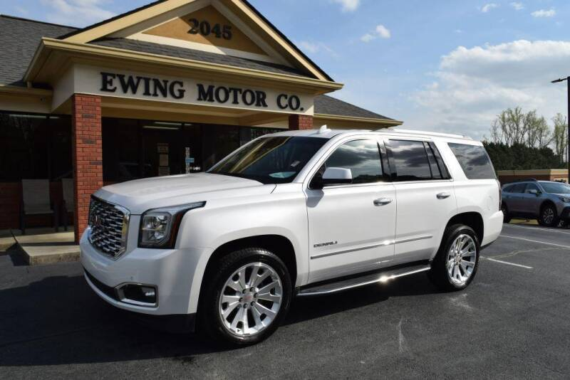2018 GMC Yukon for sale at Ewing Motor Company in Buford GA