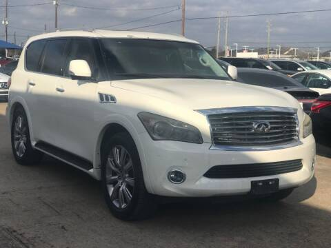 2012 Infiniti QX56 for sale at Discount Auto Company in Houston TX
