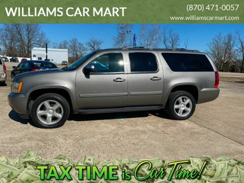 2007 Chevrolet Suburban for sale at WILLIAMS CAR MART in Gassville AR