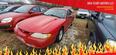 1997 Ford Mustang for sale at New Start Motors LLC - Rockville in Rockville IN