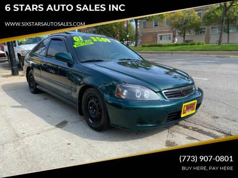2000 Honda Civic for sale at 6 STARS AUTO SALES INC in Chicago IL