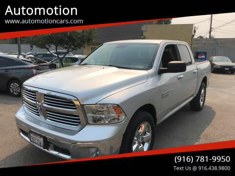 2015 RAM Ram Pickup 1500 for sale at Automotion in Roseville CA