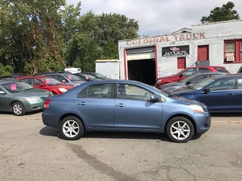 2007 Toyota Yaris for sale at Dan's Auto Sales and Repair LLC in East Hartford CT