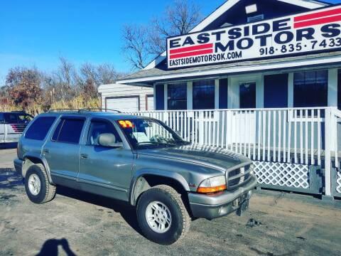 1999 Dodge Durango for sale at EASTSIDE MOTORS in Tulsa OK