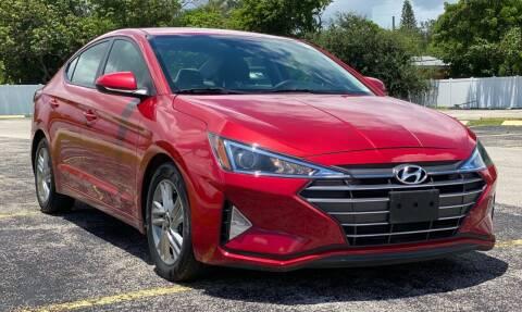 2019 Hyundai Elantra for sale at Guru Auto Sales in Miramar FL