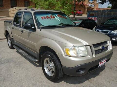 2004 Ford Explorer Sport Trac for sale at R & D Motors in Austin TX