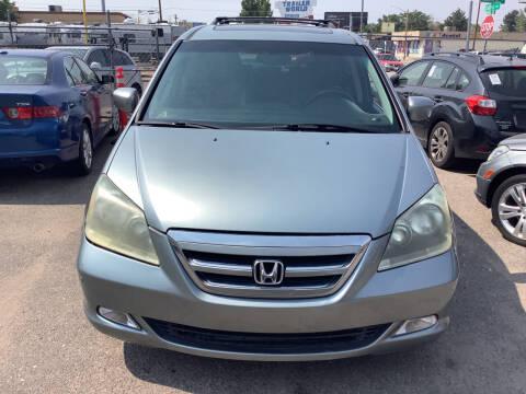 2007 Honda Odyssey for sale at GPS Motors in Denver CO