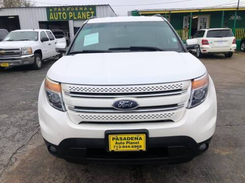 2013 Ford Explorer for sale at Pasadena Auto Planet in Houston TX