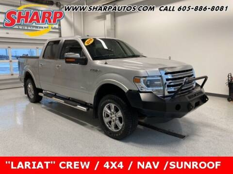 2014 Ford F-150 for sale at Sharp Automotive in Watertown SD