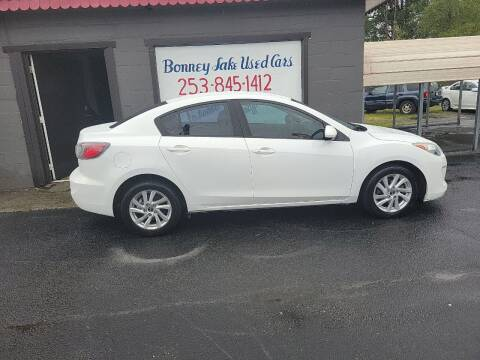2013 Mazda MAZDA3 for sale at Bonney Lake Used Cars in Puyallup WA