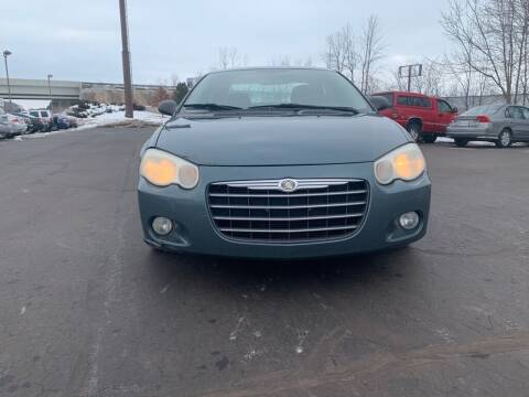 2006 Chrysler Sebring for sale at Hilltop Auto in Clare MI