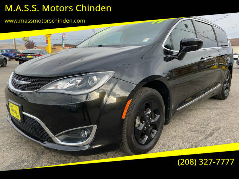 2017 Chrysler Pacifica for sale at M.A.S.S. Motors Chinden in Garden City ID