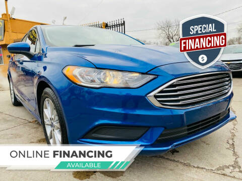 2017 Ford Fusion for sale at 3 Brothers Auto Sales Inc in Detroit MI