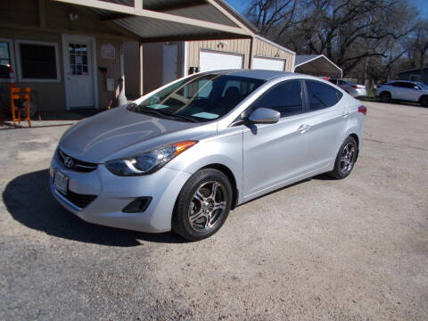2013 Hyundai Elantra for sale at DISCOUNT AUTOS in Cibolo TX