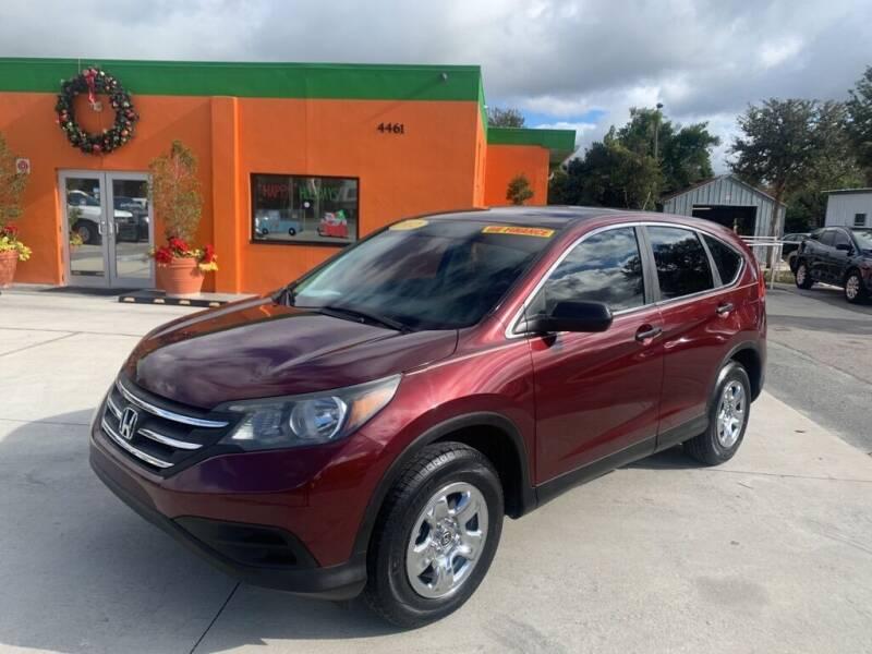 2012 Honda CR-V for sale at Galaxy Auto Service, Inc. in Orlando FL
