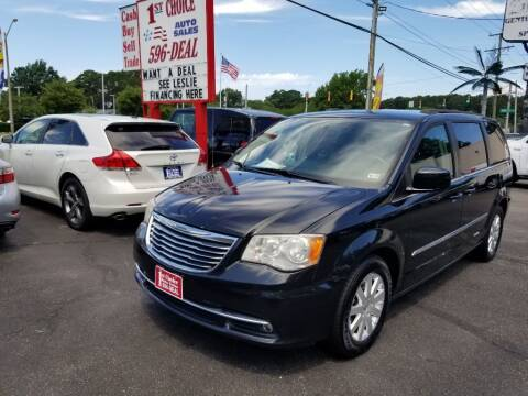 2013 Chrysler Town and Country for sale at 1st Choice Auto Sales in Newport News VA