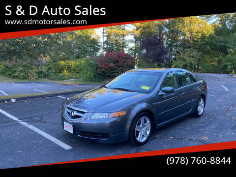 2006 Acura TL for sale at S & D Auto Sales in Maynard MA