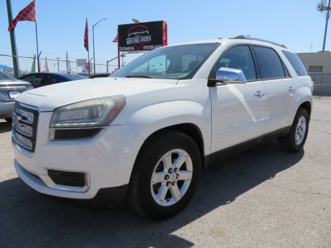2014 GMC Acadia for sale at Moving Rides in El Paso TX