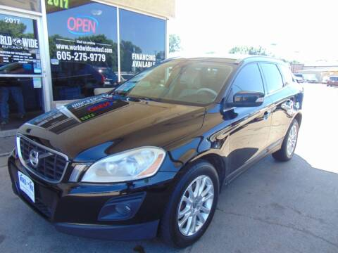2010 Volvo XC60 for sale at World Wide Automotive in Sioux Falls SD