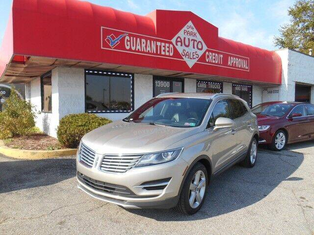 2015 Lincoln MKC for sale at Oak Park Auto Sales in Oak Park MI