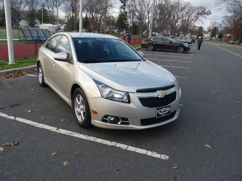 2014 Chevrolet Cruze for sale at TJS Auto Sales Inc in Roselle NJ