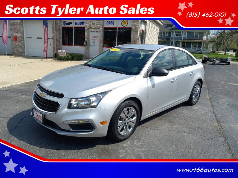 2016 Chevrolet Cruze Limited for sale at Scotts Tyler Auto Sales in Wilmington IL
