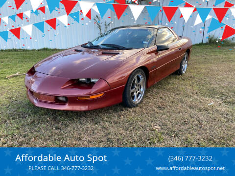 1996 Chevrolet Camaro for sale at Affordable Auto Spot in Houston TX