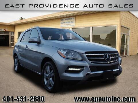 2014 Mercedes-Benz M-Class for sale at East Providence Auto Sales in East Providence RI