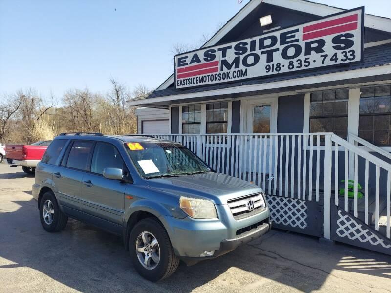 2006 Honda Pilot for sale at EASTSIDE MOTORS in Tulsa OK