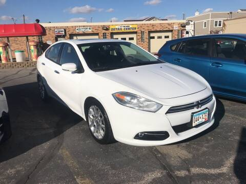 2015 Dodge Dart for sale at Carney Auto Sales in Austin MN