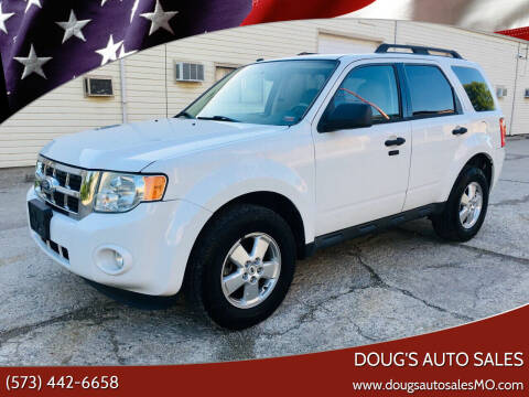 2010 Ford Escape for sale at Doug's Auto Sales in Columbia MO