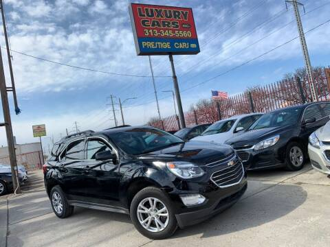 2017 Chevrolet Equinox for sale at Dymix Used Autos & Luxury Cars Inc in Detroit MI