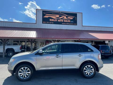 2008 Ford Edge for sale at Ridley Auto Sales, Inc. in White Pine TN