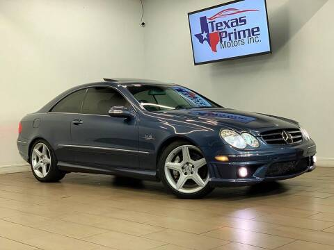 2007 Mercedes-Benz CLK for sale at Texas Prime Motors in Houston TX