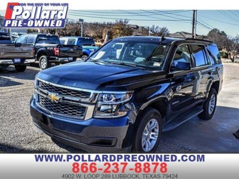 2019 Chevrolet Tahoe for sale at South Plains Autoplex by RANDY BUCHANAN in Lubbock TX