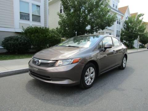2012 Honda Civic for sale at Boston Auto Sales in Brighton MA