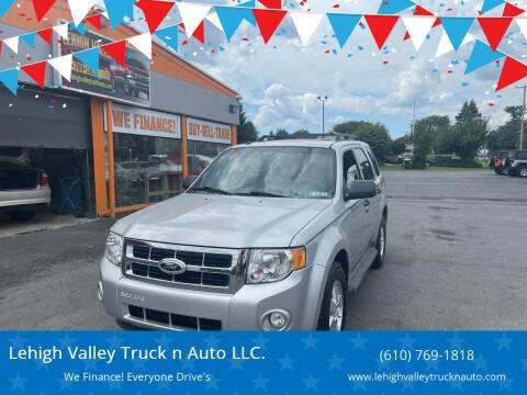 2012 Ford Escape for sale at Lehigh Valley Truck n Auto LLC. in Schnecksville PA