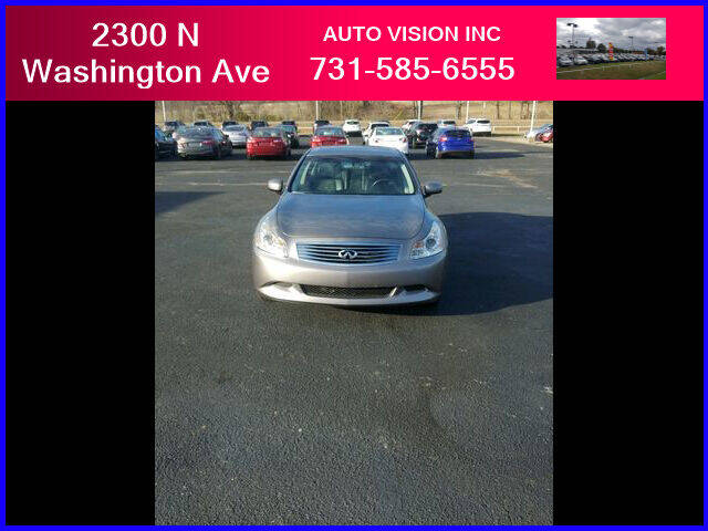 2008 Infiniti G35 for sale at Auto Vision Inc. in Brownsville TN